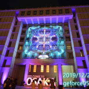 OSAKA光のルネサンス2019に行ってきました。