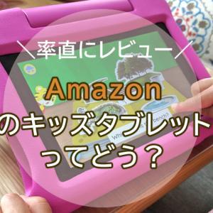 【5歳と2歳】amazonのFireタブレット(キッズモデル)ってどう?実際に家族で使って、レビューしました。