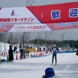 雪不足で、国際スキーマラソン大会が中止に。