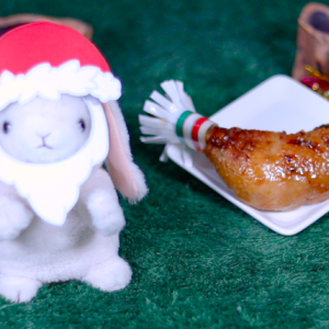 【黄金チキン ローストレッグ】ローソン 12月3日(火)新発売、コンビニ チキン 食べてみた!【感想】