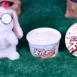 【スーパーカップ チョコチップバニラ】明治 1月13日(月)新発売、コンビニ アイス 食べてみた!【感想】