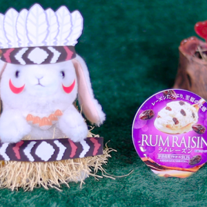 【ラムレーズン】ファミリーマート 2月18日(火)新発売、ファミマ コンビニ スイーツ アイス 食べてみた!【感想】