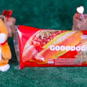 【グーードッグ トマトオニオン ハラペーニョ入り】ローソン 2月4日(火)新発売、ローソン コンビニ ホットドッグ 食べてみた!【感想】
