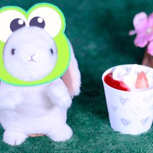 【CUPKE 夏苺のティラミス】ローソン 7月7日(火)新発売、LAWSON コンビニ スイーツ 食べてみた!【感想】