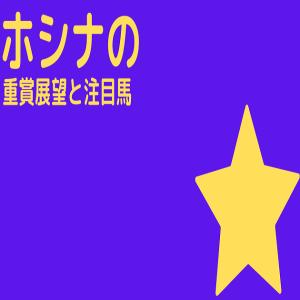 【重賞展望と注目馬】2020年10月31日、11月1日