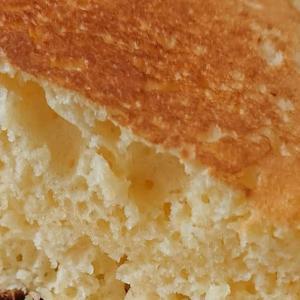 スキレットでパンケーキ
