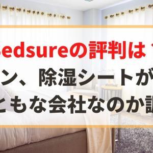 【中国】Bedsureの評判は?カーテン、除湿シートが有名。まともな会社?