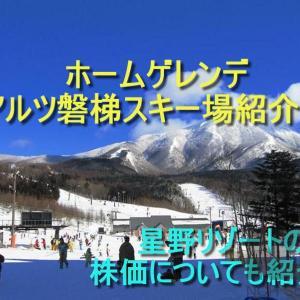 ホームゲレンデはアルツ磐梯スキー場!-星野リゾートの株も紹介ー