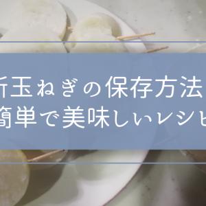 新玉ねぎの保存方法と簡単で美味しいレシピ(ステーキ・ラタトゥイユ)