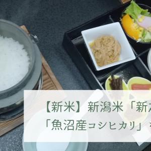 【新米】新潟米「新之助」と「魚沼産コシヒカリ」を食す旅