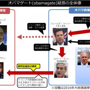 オバマゲート(obamagate)疑惑とは?ウォーターゲート事件を上回る規模の盗聴・監視スキャンダル