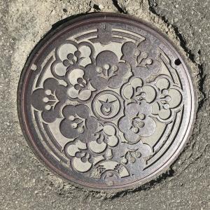 【秋田県】北秋田市(旧合川町)のマンホール 2