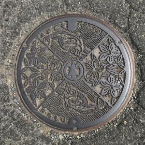 【秋田県】八峰町(旧八森町)のマンホール