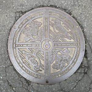【青森県】横浜町のマンホール
