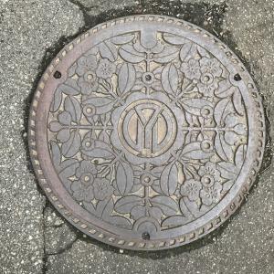【山形県】鶴岡市(旧温海町)のマンホール