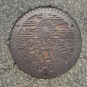 【山形県】鶴岡市のマンホール 5
