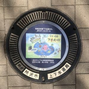 【埼玉県】所沢市のマンホール 17