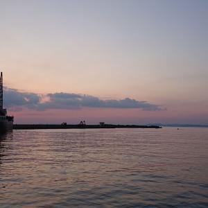 海釣り アジング 保田漁港