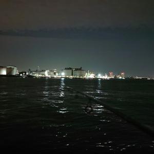海釣り アジング 千葉港