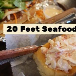 名物はロブスターロール「20 Feet Seafood Joint」