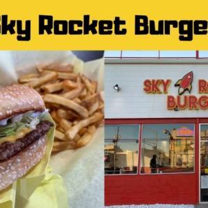Yelpが発表した全米で食べに行くべきお店100にランクインしたお店「Sky Rocket Burger」