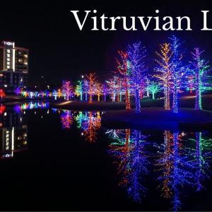 昨年、Vitruvian Parkのイルミネーションに行きました!