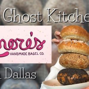 【今話題のGhost Kitchen】Lenore's bagels!テキサス産小麦粉使用!