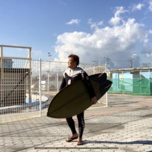 本日の波乗り in  鵠沼スケパー