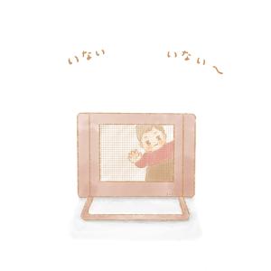 【絵日記】生後11ヶ月のむすめ記録 -前編-