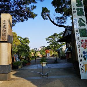 玉藻公園菊花展 2020(高松市玉藻町)