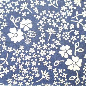商品紹介:涼しい色合、青×白の印伝