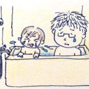 【育児日記】一緒にお風呂に入りたいお父さんVS入りたくない娘(1歳1カ月)