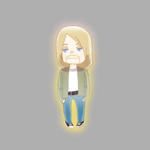 Cute Kurt Cobain!