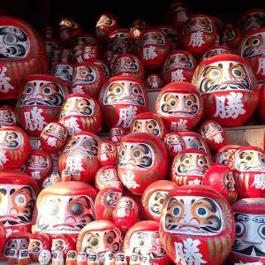 箕面山ハイキング(後編)勝尾寺で紅葉とダルマを見ながら散策