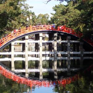 大阪市住吉区 住吉大社で2020年の初詣 太鼓橋・本殿・おもかる石をめぐる