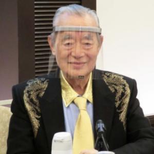 ドクター中松氏コロナ対策マスクを発表!