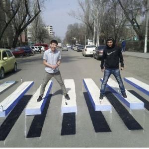 交差点の交通事故を激減される発明!
