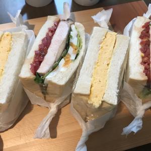 鹿楓堂よついろ日和のサンドイッチを再現