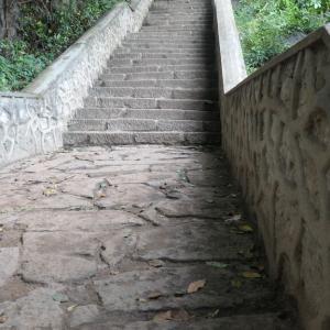 ダンブッラ、洞窟寺院に行く。