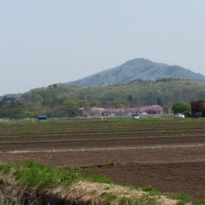 関山に登る