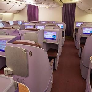 タイ航空ビジネスクラス バンコク発券で激安路線 エラー運賃かも?