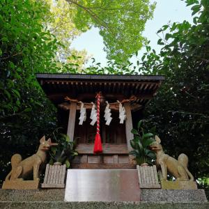 お朔日の週詣り【大和田日枝神社】