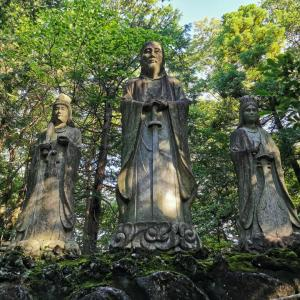 造化三神が鎮座する真誠山〜龍の入不動尊②