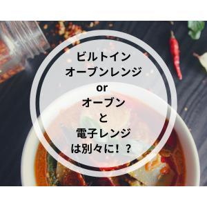 【家電情報求む】ビルトイン型オーブンレンジ?オーブンor 電子レンジは別々??