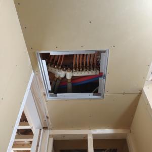 《着工215日目》天井の点検口