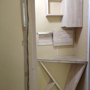 【造作】階段裏の全貌が見えました!