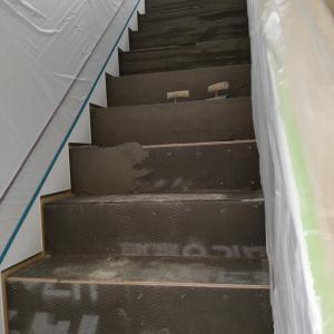 家の中なのに衝撃の階段