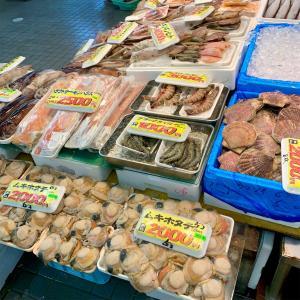 八食市場寿司!八食センター内にある大人気の回転寿司〜八食センターでお土産を買う〜