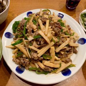 おかんのレシピ!青椒肉絲〜たけのこの調理は大変なので水煮に置き換えてチンジャオロースを教えてもらいました〜
