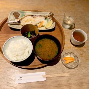 d47食堂!47都道府県の職をテーマにした定食屋で島根定食(カマスの一夜干し)と茨城の霧筑波、富山のカスタードプリン、愛媛のはるかを堪能した話